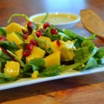 4 Day Meal Plan_pomegranate tumeric salad