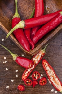 top fertility super foods includes chilli
