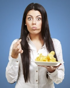 eating chips cause infertility