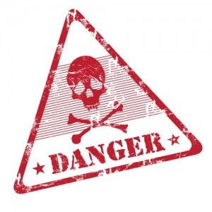 danger on toxic chemicals