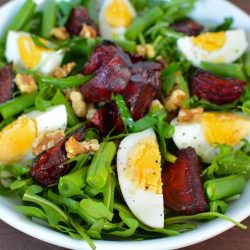 Egg Beetroot Rocket Salad Fertility Food Revolution