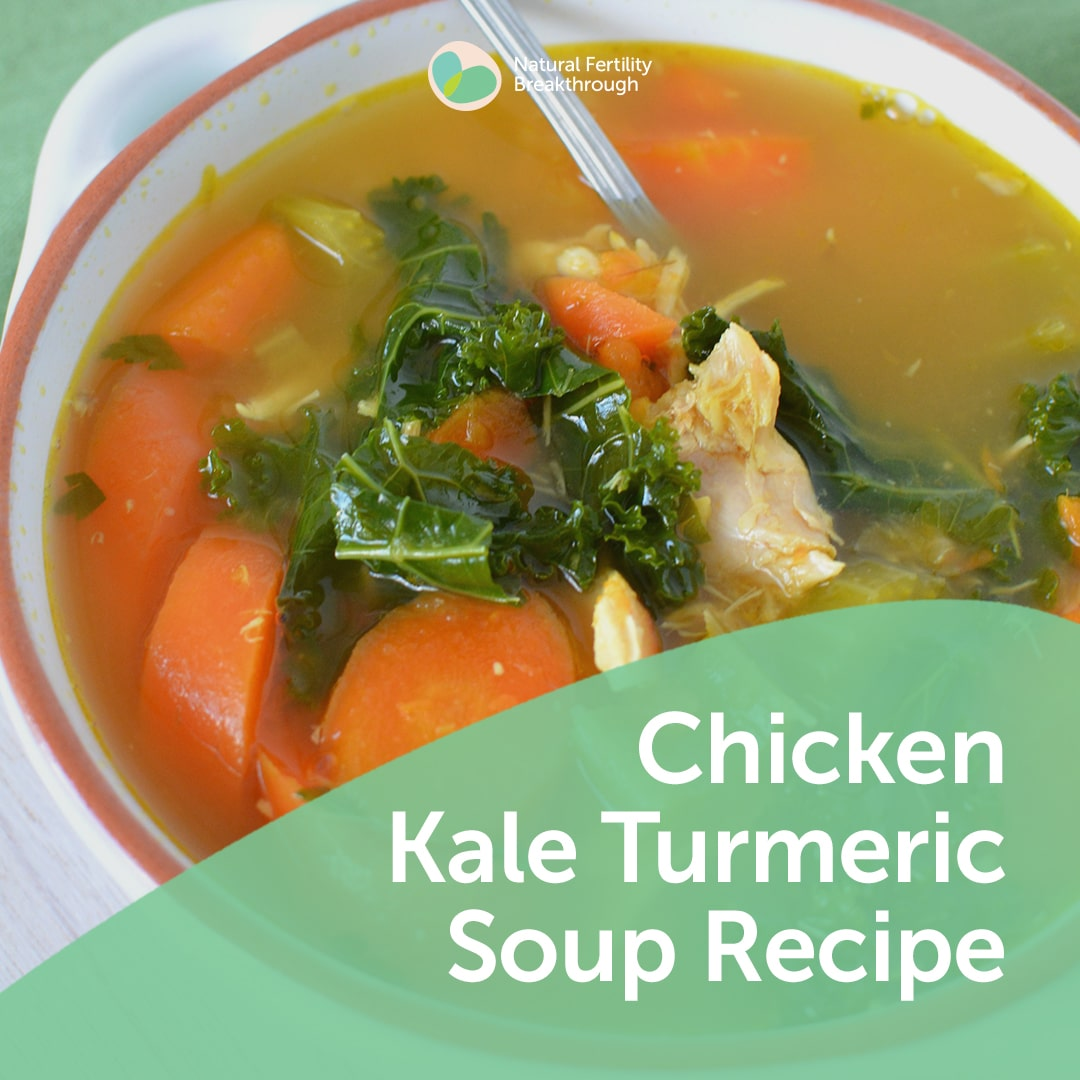 Chicken Kale Turmeric Soup | Meal Plans & Recipes