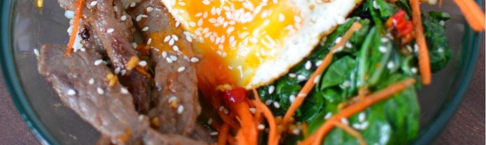 fertility food revolution Korean Beef Bowl
