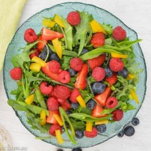 Fertility Food Revolution recipe Triple-Berry-Kale-Salad