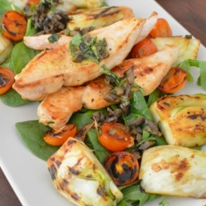 Chicken-with-Olive-and-Fennel-Salad is a tasty part of any gluten free fertility diet