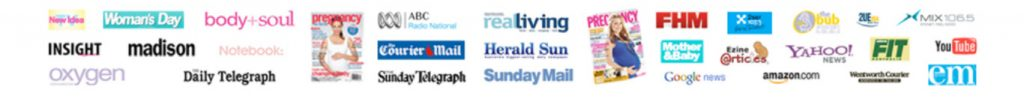 Gabriela Rosa Leading Natural Fertility Specialists _As Seen and Heard Media Banner