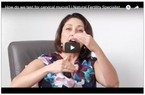 How to test for cervical mucus_Fertility Insights w Gabriela Rosa_Video Thumbnail